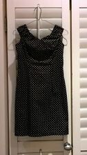 Party/Cocktail Polka Dot 100% Cotton Dresses for Women