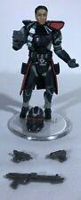 2007 Hasbro Star Wars TAC Jedi Con Excl Clone Shadow Trooper Commander w/Stand