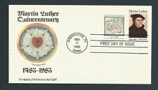 US Stamps FDC MARTIN LUTHER #2065 / Panda Cachet / 1983