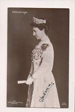 Vintage Postcard Princess Victoria of Baden Queen of Sweden