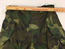 Military Surplus Goretex Woodland Pants Trousers ECWCS Gen II Wet Weather Medium