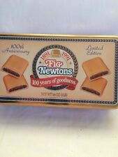 5x9 Vintage Design Fig Newtons Cookie Tin .
