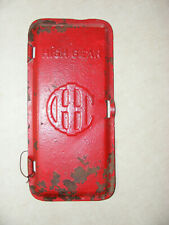 Old International Harvester High Gear IHC Transmission Cover Embossed Tractor