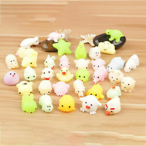 Kawaii Toy Stress Reliever Healing Fun Kids Squishy Squeeze Mochi Cute Decor Boy