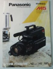 Panasonic VHS-Kamerarekorder NV-M5EG Movie M5 Katalog Prospekt Werbung B8444