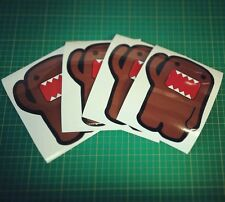 6 inch tall color domo decal vinyl jdm car window sticker illest stance lowered