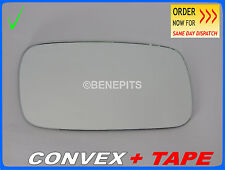 Wing Mirror CAR Glass For Saab 93 1998-2002 CONVEX + TAPE Right Side #SA003 236
