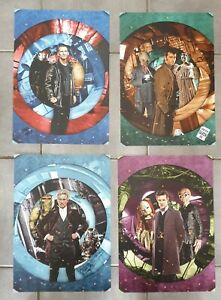 Doctor who 4 A3 posters of Doctors 9,10,11 &12  designed by will brooks