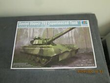 1/35  TRUMPETER  SOVIET  OBJECT 292 EXPERIMENTAL  TANK     (09583)     858g