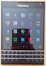 BlackBerry Passport Model: Rgy181Lw 32Gb Black (Unlocked) Smartphone Used A+