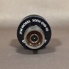 JFW Model 50FH-010-10 10 Watts 10 dB Attenuator