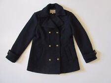 Banana Republic Double Breast Navy Wool Peacoat 14 Elena Gilbert Vampire Diaries