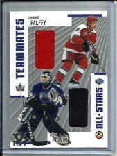 Zigmund Palffy-Felix Potvin 02/03 Be A Player Memorabilia Game Used Jersey #1/1
