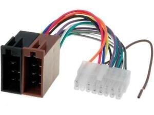 ZRS-33 Connector ISO Clarion PIN16 4CARMEDIA ''UK COMPANY SINCE1983 NIKKO''