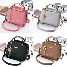 Women Lady Shoulder Bag Faux Leather Crossbody Messenger Handbags Tote Purse