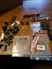 R/C. box of spare parts . Canopy clamps ball bearings servo arms all kinds
