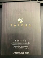 TATCHA Polished GENTLE RICE ENZYME POWDER, 2.1 OZ/10G IN The Box SHIPPING FREE