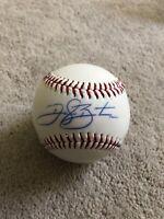 Daryl Boston Chicago White Sox Signed Autographed Baseball MLB