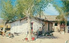 BEATTY NEVADA MARTIN BEATTY'S HOME FIRST SETTLER IN THE AREA POSTCARD 1960s