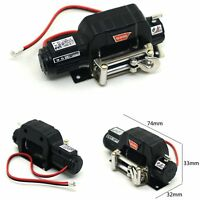 Car RC Winch Automatic Control for 1/10 Traxxas TRX-4 Axial SCX10 D90 D110 TF2