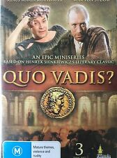 QUO VADIS? Complete Mini Series DVD ABC TV Henryk Sienkiewicz Excellent Cond!