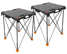 WORX WX066 Sidekick Portable Tailgate Work Table (2) for $99