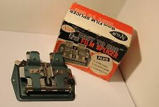 ARROW , 8mm & 16mm FILM SPLICER , BOXED   (#18)