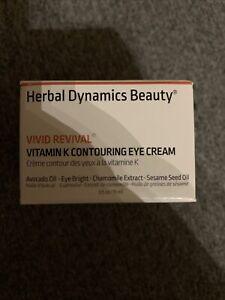 Herbal Dynamics Beauty Vivid Revival Vitamin K Contouring Eye Cream