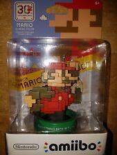 Nintendo Amiibo 8-Bit Mario Classic Color  BRAND NEW SEALED 30th Anniversary