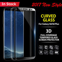 3D Full Cover Tempered Glass Screen Protector Film For Samsung Galaxy S9 S9 Plus
