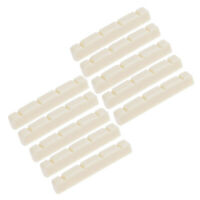Ukulele Nut for 4 String Ukulele Guitar Parts Slotted 36mm Ivory Pack of 10