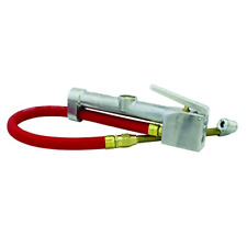 Milton S-506 Inflator Gauge Dual Head Chuck with 15 Inch Air Hose Free Shipping