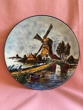 Delft Polychrome Hand Painted Decorative Wall Plate