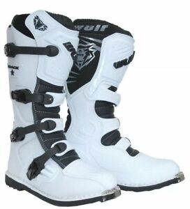 Wulfsport Track Star Adult Motocross Boots Quad ATV Dirt Bike  Wulf Size 43/9