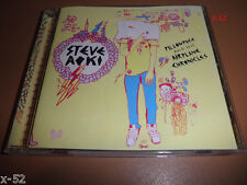 STEVE AOKI cd PILLOWFACE and his AIRPLANE CHRONICLES debut MIX album