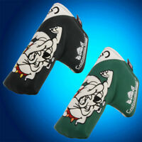 Bulldog Golf Blade Putter Cover Headcover Magnetic For Scotty Cameron Odyssey US