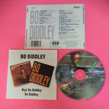 CD BO DIDDLEY Hey Bo Diddley 1995 Uk BGO RECORDS BGOCD287   no lp dvd (CS28)