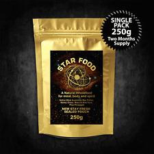 Star Food Single Pack (250g) Monatomic Gold, Ormus, MUFKUTZ, M State Superfood