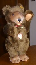 Steiff Teddy Baby 1930-braun-0175/35-Knopf, Fahne,Schild-1993-35cm-Note 1-2