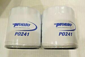Pack of 2 Engine Oil Filter-Standard Life Oil Filter Pronto PO241