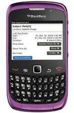 PURPLE BLACKBERRY 9300 3G SMART PHONE- UNLOCKED WITH NEW CHARGAR AND WARRANTY.
