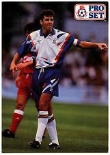 John Dreyer Luton Town #279 Pro Set Fútbol 1991-2 tarjeta de comercio (C364)