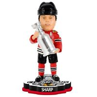 PATRICK SHARP 2015 Stanley Cup Champions Bobblehead Chicago Blackhawks
