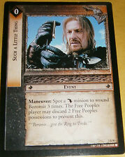LOTR TCG ROTEL RARE CARD - 3R80 SUCH A LITTLE THING