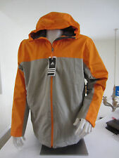 Adidas Mens WT COLB Outdoor Hooded Lined Windbreaker Blancher NWT XL $119