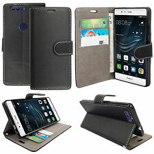 New Leather Stand Flip Wallet Cover Mobile Phone Case For Huawei  P8/P9/P10/Lite