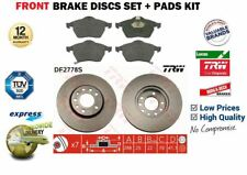 FOR OPEL VAUXHALL VECTRA B 1995-2001 FRONT BRAKE DISCS SET + PAD KIT