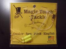 Magic Touch Tackle Hi-Lo Rig for Croaker - Perch - Spot - Kingfish *YELLOW*