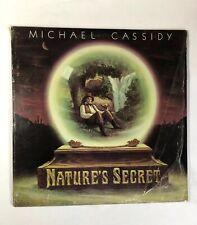 Michael Cassidy Lp NATURE'S SECRET   Gold Lotus GLR-1 Vinyl NM Shrink W/Insert