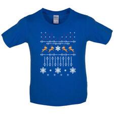Camisetas de niño de 2 a 16 años de punto
